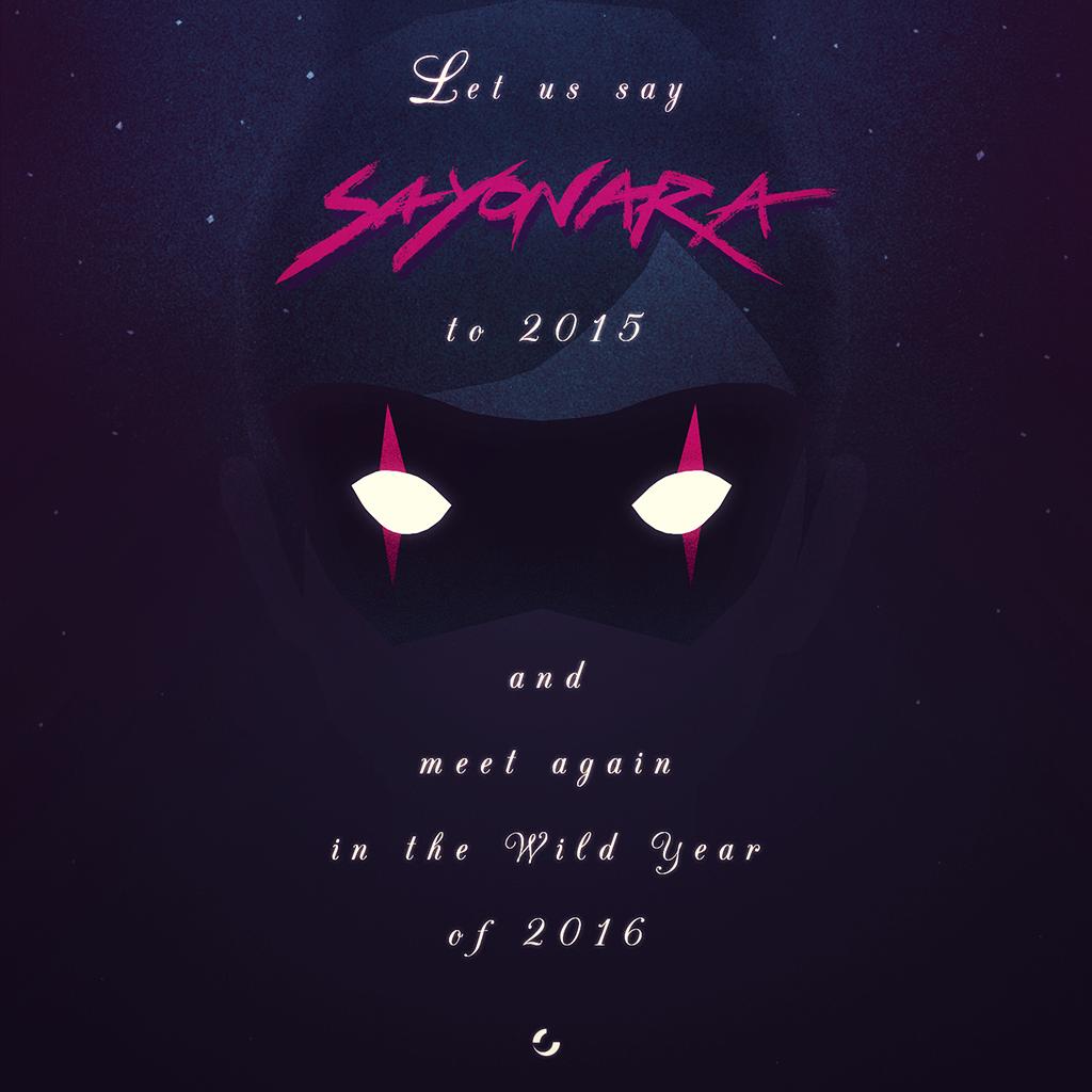 Sayonara 2015